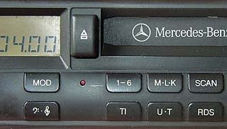 MERCEDES BENZ SOUND 4024 code BP7005 24v