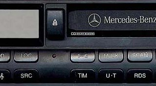 MERCEDES BENZ SOUND 6024 code BP5000 24v