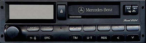 MERCEDES BENZ SOUND 6024 code BP5000 24v