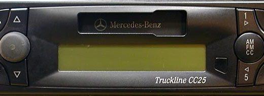MERCEDES BENZ TRUCKLINE CC25 24V BE6046 code