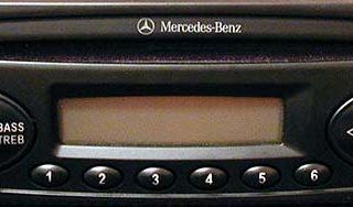 MERCEDES BENZ TRUCKLINE CD60 24v VISTEON YU3F-18C838-DB code