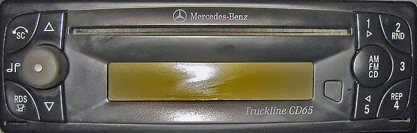 MERCEDES BENZ TRUCKLINE CD65 BE7045 24v code
