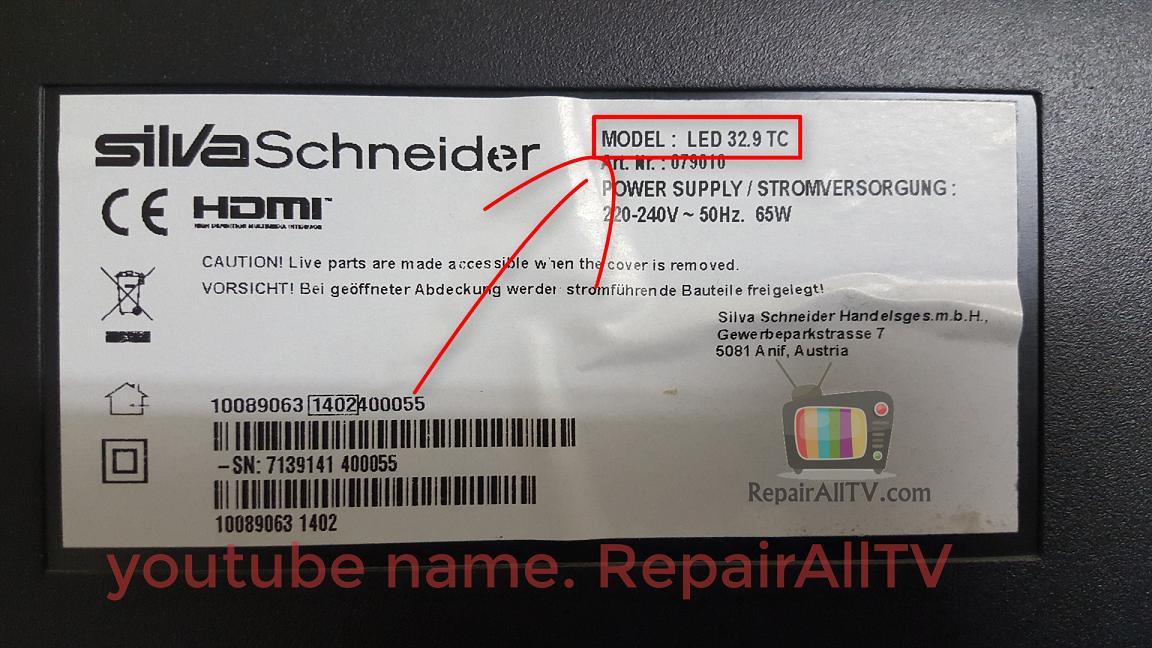 silva schneider led32.9tc eeprom bin 25q64/25q16