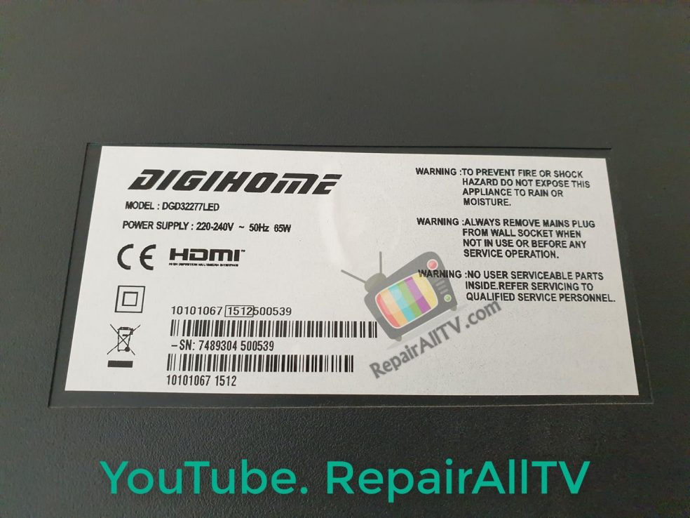 DIGIHOME DGD32277LED