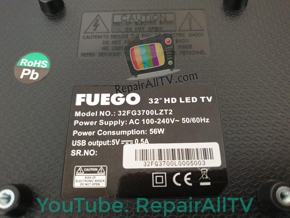 FUEGO 32FG3700LZT2 25L64 bin flash Download