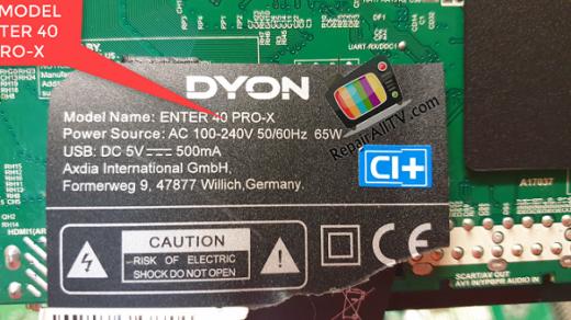 DYON ENTER 40 PRO-X