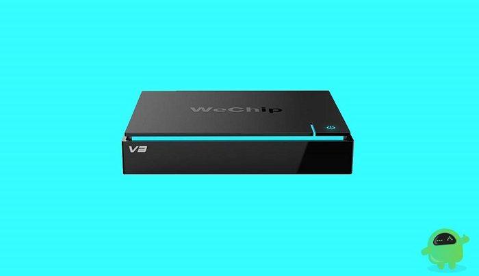 Wechip V3 TV Box firmware