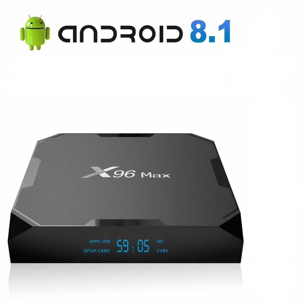 X96 Max TV Box firmware Android Oreo 8.1 Download AMLogic S905x2