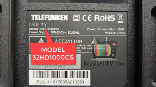 TELEFUNKEN 32HD1000CS 25Q32C
